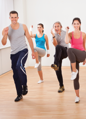 Exercise to music Fitness Instructor